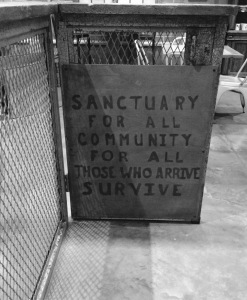 Walking Dead Cafe: Sanctuary for all community, for all those who arrive survive